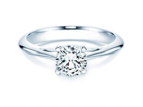 Solitärring Heaven 4 in Platin mit Diamant 1,00ct