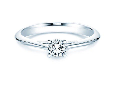 Solitärring Heaven 4<br />Platin<br />Diamant 0,40ct
