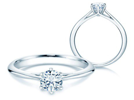 Solitärring Heaven 6<br />Platin<br />Diamant 0,50ct
