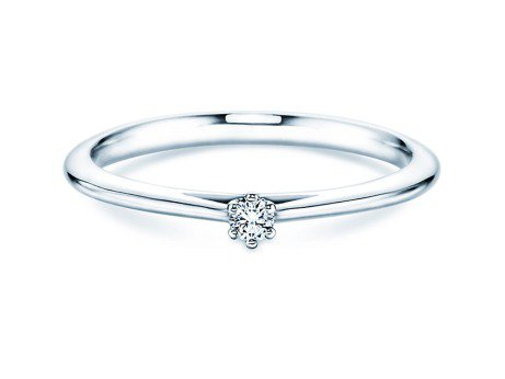 Solitärring Heaven 6<br />Platin<br />Diamant 0,05ct