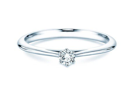 Solitärring Heaven 6<br />Platin<br />Diamant 0,10ct