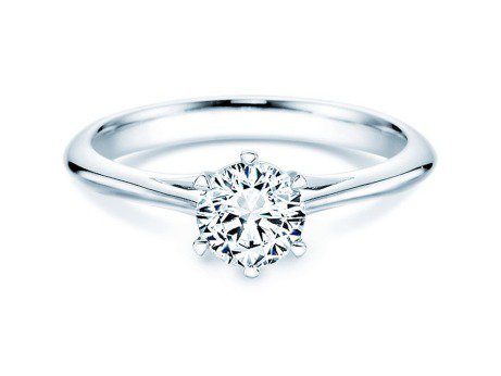 Solitärring Heaven 6<br />Platin<br />Diamant 0,75ct