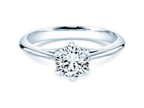 Solitärring Heaven 6<br />Platin<br />Diamant 1,00ct