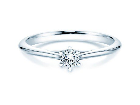 Solitärring Heaven 6<br />Silber<br />Diamant 0,20ct