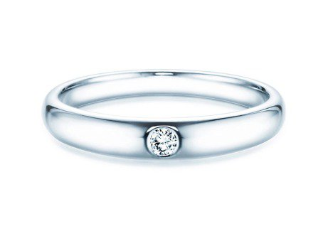 Verlobungsring Promise<br />Silber<br />Diamant 0,05ct