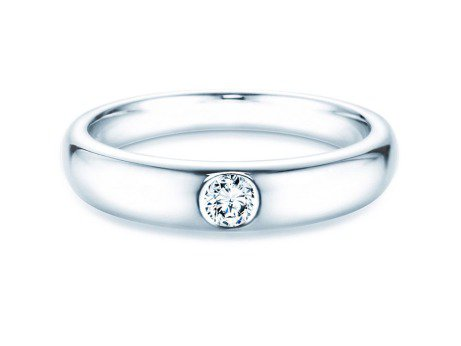 Verlobungsring Promise<br />Silber<br />Diamant 0,15ct