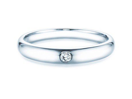 Verlobungsring Promise<br />Silber<br />Diamant 0,03ct