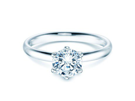 Verlobungsring Classic<br />Silber<br />Diamant 1,00ct