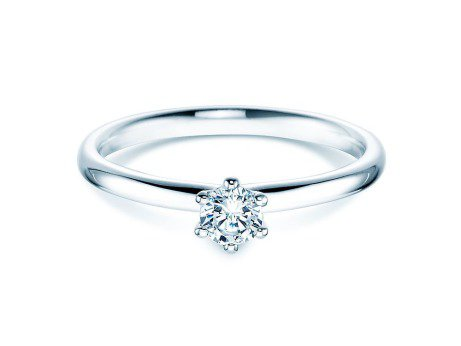 Verlobungsring Classic<br />Silber<br />Diamant 0,25ct