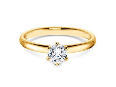 Verlobungsring Classic<br />18K Gelbgold<br />Diamant 0,50ct