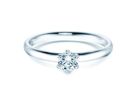 Verlobungsring Classic<br />Silber<br />Diamant 0,30ct