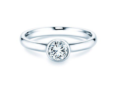 Solitärring Eternal in Platin mit Diamant 0,50ct