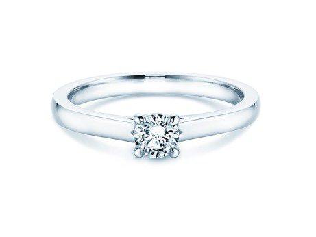 Verlobungsring Romance<br />14K Weißgold<br />Diamant 0,30ct