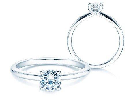 Verlobungsring Classic 4<br />18K Weißgold<br />Diamant 0,50ct