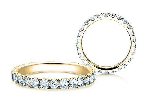Verlobungsring Dusk in 18K Gelbgold mit Diamanten 1,3ct