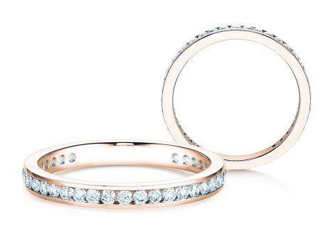 Endless Love<br />18K Roségold<br />Diamant 0,50ct