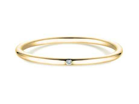 Verlobungsring Promise Petite<br />18K Gelbgold<br />Diamant 0,005ct