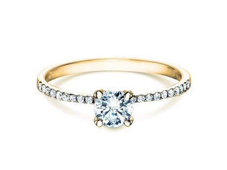 Verlobungsring Grace<br />18K Gelbgold<br />Diamant 0,70ct