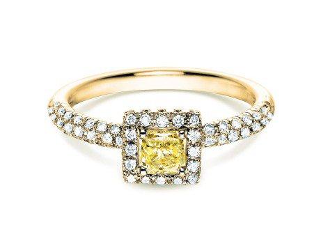 Verlobungsring Sophie<br />18K Gelbgold<br />Diamant 1,02ct