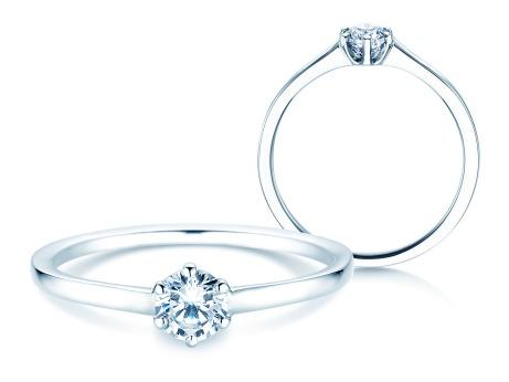 Verlobungsring Madison<br />18k Weißgold<br />Diamant 0,25ct