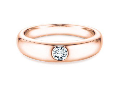 Verlobungsring Promise<br />18K Roségold<br />Diamant 0,05ct