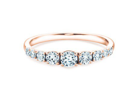 9 Diamonds<br />18K Roségold<br />Diamant 0,43ct