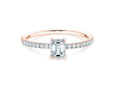 Verlobungsring Elaine<br />18K Roségold<br />Diamant 0,86ct