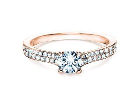 Verlobungsring Claire<br />18K Roségold<br />Diamant 0,70ct