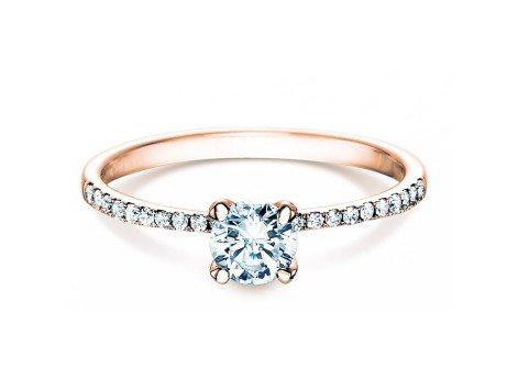 Verlobungsring Grace<br />18K Roségold<br />Diamant 0,70ct