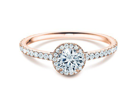 Diamantring Pure Infinity<br />18K Roségold<br />Diamant 0,95ct