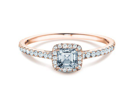 Diamantring Pure Life<br />18K Roségold<br />Diamant 0,97ct