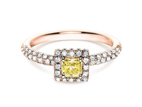Verlobungsring Sophie<br />18K Roségold<br />Diamant 1,02ct