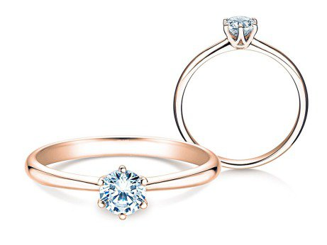 Verlobungsring Spirit<br />18K Roségold<br />Diamant 0,50ct