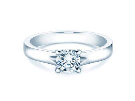 Verlobungsring Romance<br />14K Weißgold<br />Diamant 0,75ct