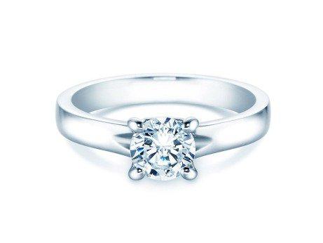 Verlobungsring Romance in Platin mit Diamant 1,00ct