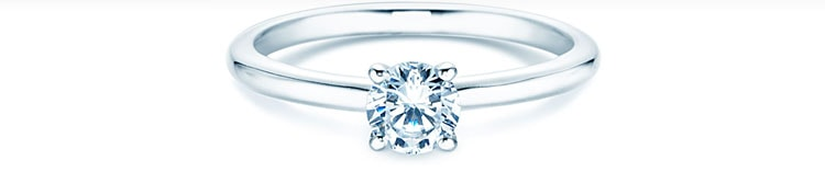 Verlobungsring Classic 4 Mit Diamant Verlobungsringe De