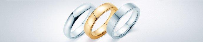 Ringe ohne Stein  – Verlobungsringe für Männer, Herrenringe