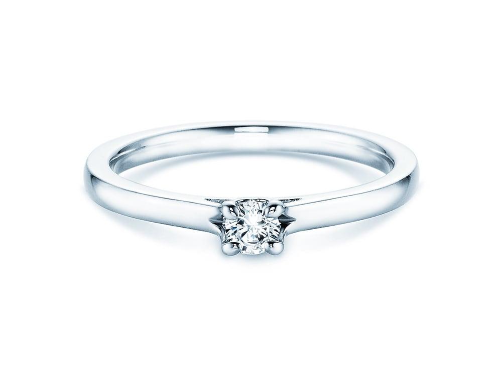 verlobungsring romance in silber 925 mit diamant 0 20 karat onlineshop. Black Bedroom Furniture Sets. Home Design Ideas