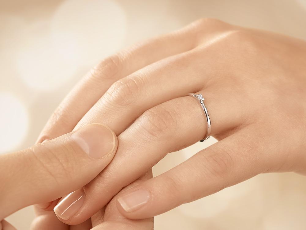 Diamantring weißgold günstig  Günstige Verlobungsringe mit Diamant ab 189 € online kaufen