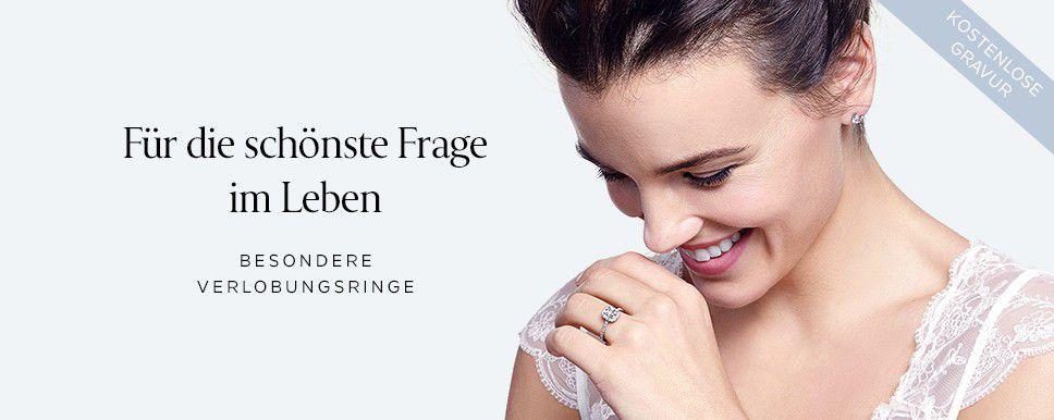 Besondere Verlobungsringe  Für die schönste Frage im Leben  Jetzt entdecken mit kostenloser Gravur