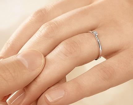 Verlobungsringe günstig: Neues wagen mit dem Solitärring Love