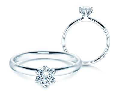 Weissgold Ringe