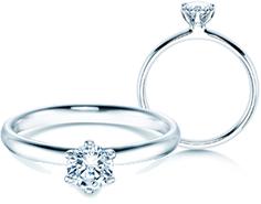 Unsere Halbkaräter Verlobungsringe online kaufen